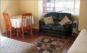 Khanyi self-catering unit at Margaret's Place